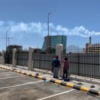 تحسينات السور الغربي لمبنى الخدمات الطبية بمدينة السعودية بجدة