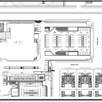 Car Parking building for Flight services in SV city - jeddah