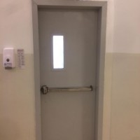 Changing Electrical outlets (220V) and changing the emergency exists at Saudia Medical Building - Jeddah