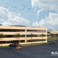 إنشاء مبنى مواقف إضافية لمبنى الخدمات الطبية بمدينة السعودية بجدة